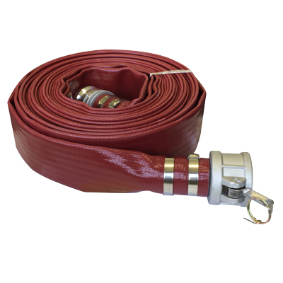 "2"" - 50ft Layflat Discharge Hose Assembly"
