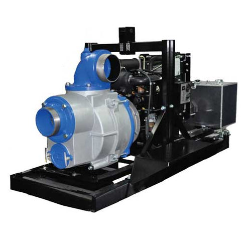 Skid mounted AMT pump