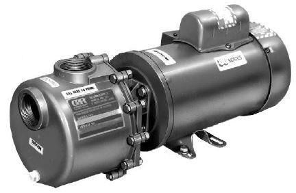 "1-1/2"" - 2 HP Motor Driven Plastic Pump (81 1/2P47A-E2)"