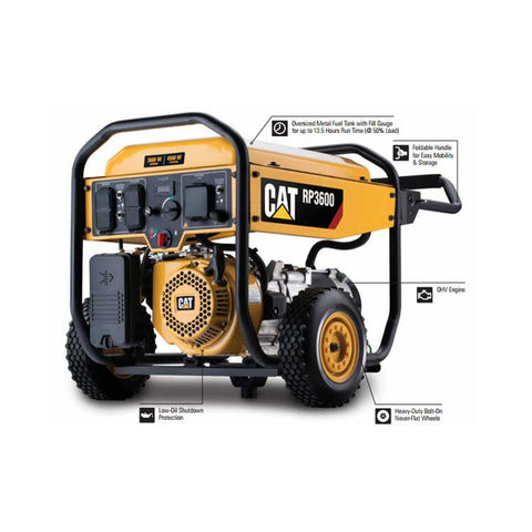 Cat RP3600 Portable Gas Generator (502-3685)