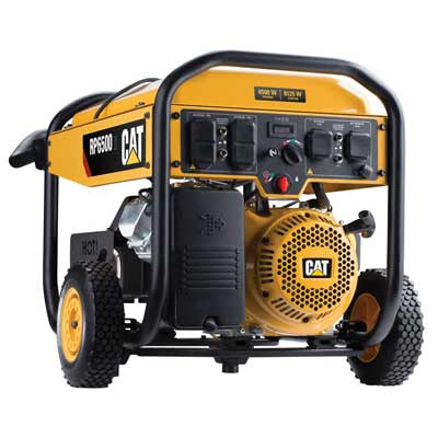 Cat 6500 Watt Portable Gas Generator