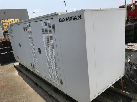 100 kW Natural Gas Generator with Enclosure