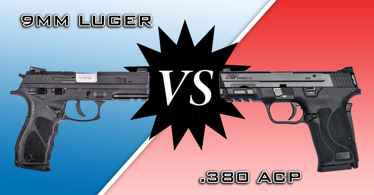 9mm Luger Vs. .380 ACP