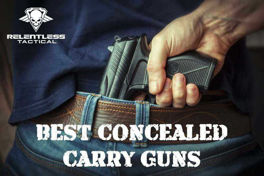The Top 5 Guns for Concealed Carry (According to this guy)