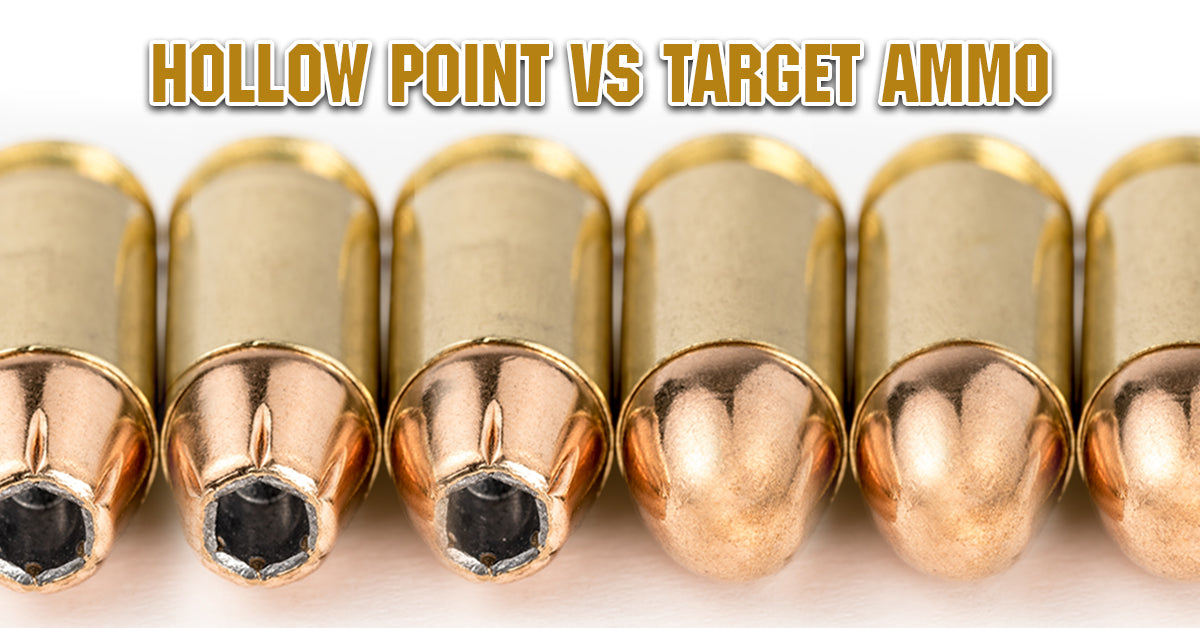 Hollow Point VS Target Ammo, and Why You Need To Shoot Both