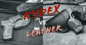 Leather vs. Kydex Holsters for Concealed Carry