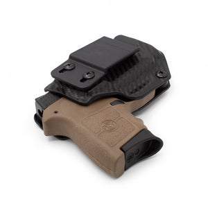 Stealth Mode S & W Bodyguard .380 Kydex Inside the Waistband Holster - Custom Molded For .380