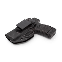 "Load image into Gallery viewer, Stealth Mode Springfield XDs 3.3"" Kydex Inside the Waistband Holster - Custom Molded to Fit XDs"