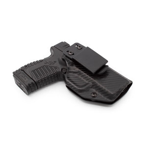 "Stealth Mode Springfield XDs 3.3"" Kydex Inside the Waistband Holster - Custom Molded to Fit XDs"