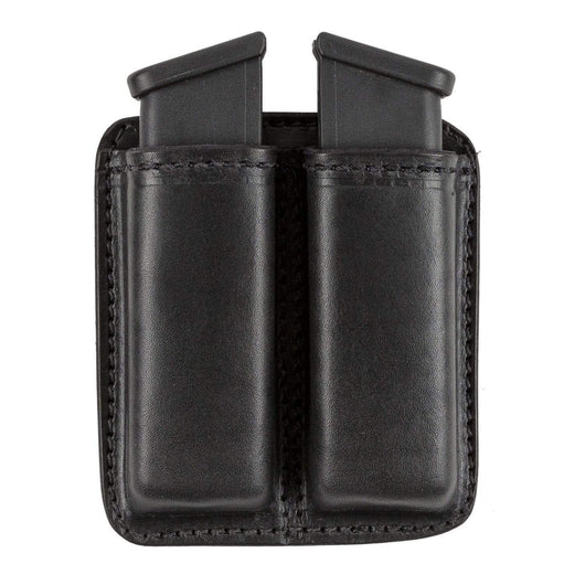 CLEARANCE!! Leather 2 Magazine Holder | Made In USA | Fits virtually any 9mm, .40, .45 or .380 Pistol Mag | Single or Double Stack | IWB or OWB Tactical Accessories