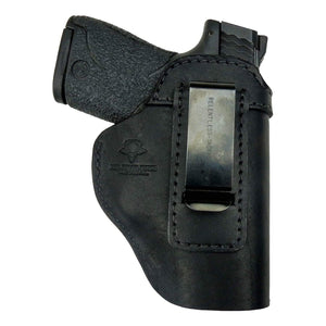 CLEARANCE!!  The Defender Leather IWB Holster - S&W Shield/Glock/XD Handguns  - Made in USA