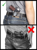 Load image into Gallery viewer, CLEARANCE!!! Ultimate Steel Core Concealed Carry Leather Gun Belt - Made In USA