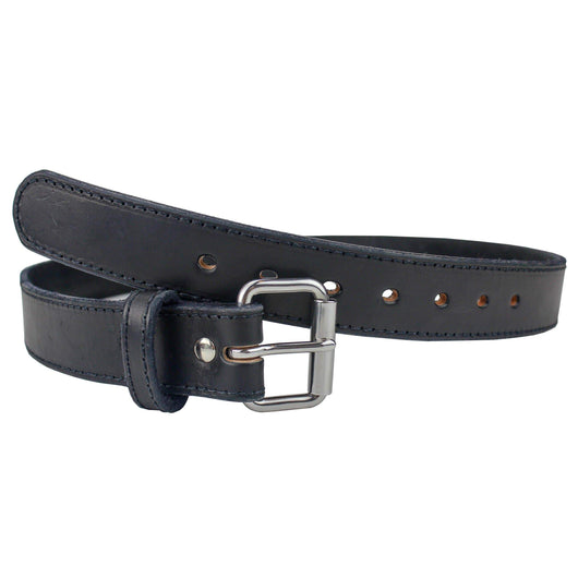 CLEARANCE!!! Ultimate Steel Core Concealed Carry Leather Gun Belt - Made In USA Belts 32 / BLACK