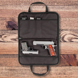 Deluxe Range Case Large Pistol Case - Handmade in the USA!