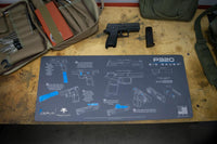 Load image into Gallery viewer, Gun Cleaning Mat - Instructional - Handguns - Made in the USA Tactical Accessories Glock