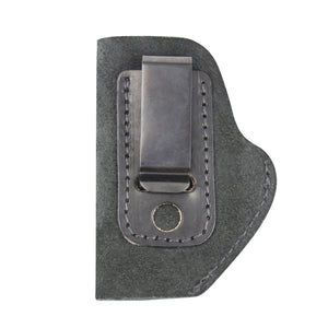 Relentless Tactical Holsters CLEARANCE!! The Ultimate Suede Leather IWB Holster - Fits .380 Autos - Made in USA Inside the Waistband - Right Handed / Black