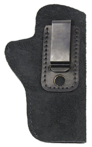 Relentless Tactical Holsters CLEARANCE!! The Ultimate Suede Leather IWB Holster - Fits All 1911's - Made in USA Inside the Waistband - Right Handed / Black