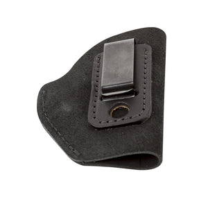 Relentless Tactical Holsters CLEARANCE!! The Ultimate Suede Leather IWB Holster - Fits Glock 42 | Ruger LC9, LC9s | Kahr CM9, MK9, P9 | Kel-Tec PF9, PF11 | Kimber Solo Carry - Lifetime Warranty - Made in USA Inside the Waistband - Right Handed / Black