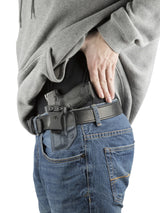 Relentless Tactical Holsters Stealth Mode S&W M&P Shield 9mm/.40/.45 Kydex Inside the Waistband Holster - Custom Molded