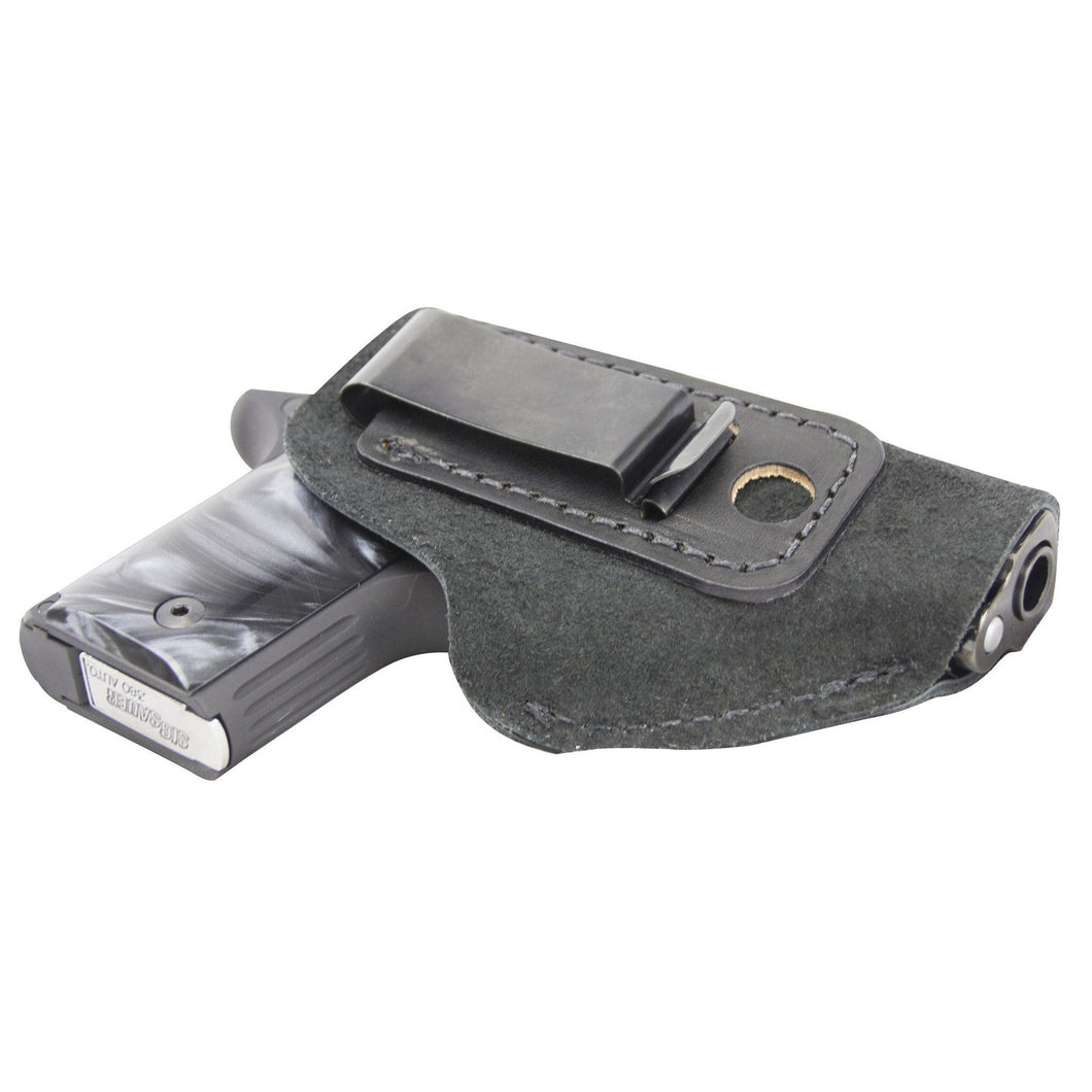 Relentless Tactical Holsters The Ultimate Suede Leather IWB Holster - Fits .380 Autos - Lifetime Warranty - Made in USA Inside the Waistband - Right Handed