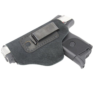 Relentless Tactical Holsters The Ultimate Suede Leather IWB Holster - S&W Shield/Glock/XD - Lifetime Warranty - Made in USA