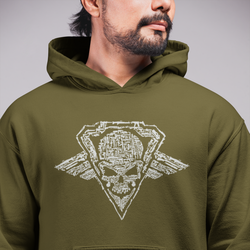 Relentless Tactical Gun Skull Sweatshirt Tactical Accessories S / Green