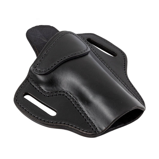 The Ultimate 3 Slot OWB Leather Gun Holster - Fits virtually