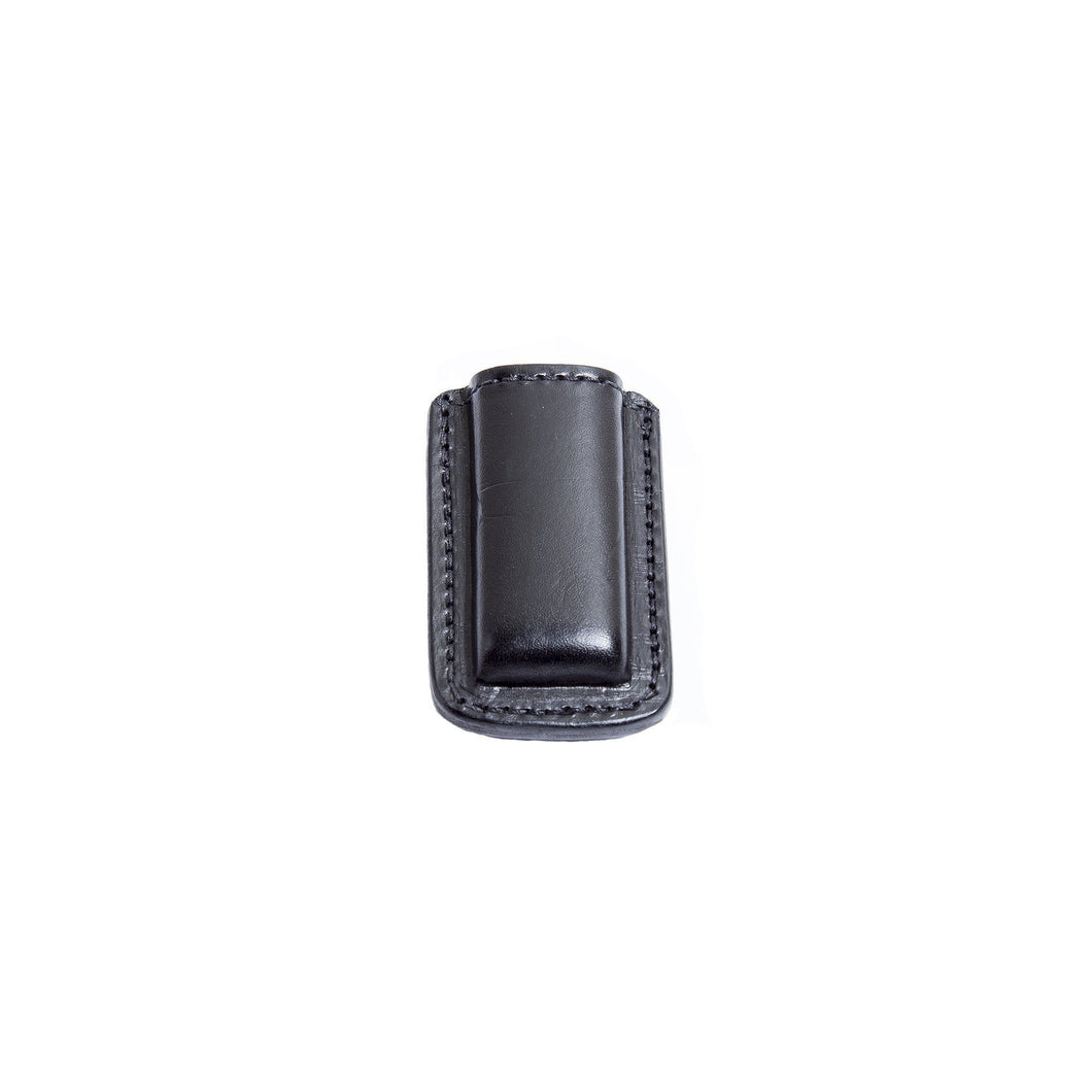 Relentless Tactical Tactical Accessories CLEARANCE!! Leather Magazine Holder | Made In USA | Fits virtually any 9mm, .40, .45 or .380 Pistol Mag | Single or Double Stack | IWB or OWB 380 Single Stack / Black