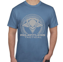 Relentless Tactical Tactical Accessories Relentless Tactical Bullet Burst Shirt Mens Small / Steel Blue