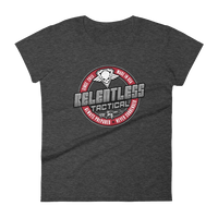 Load image into Gallery viewer, Relentless Tactical Tactical Accessories Relentless Tactical Emblem Shirt Womens Small / Dark Heather Gray