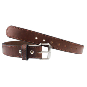 Ultimate Steel Core Concealed Carry Leather Gun Belt - Lifetime Warranty - Made In USA Belts 32 / BROWN
