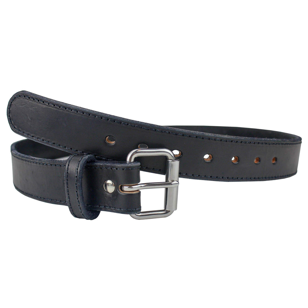 Ultimate Steel Core Concealed Carry Leather Gun Belt - Lifetime Warranty - Made In USA Belts 32 / BLACK