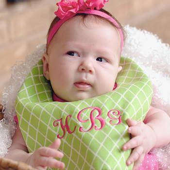 Personalized Bib & Burp Sets