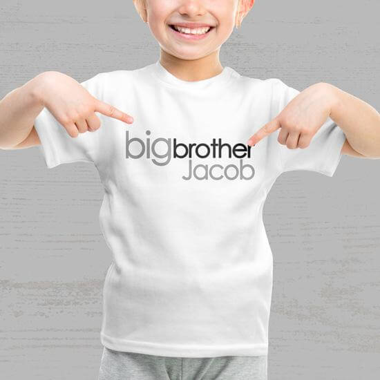 <br>Big Brother Shirts &<br>Little Brother Shirts