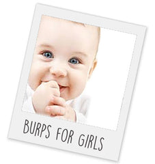 Girls Burp Cloths