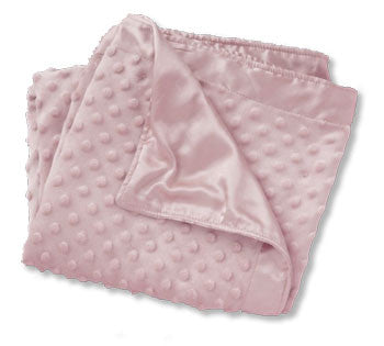 Personalized Baby Blanket<br> Cuddle Fleece - Pink - Moonbeam Baby