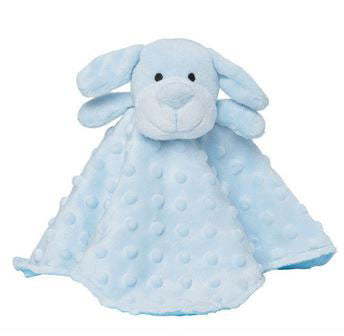 Security Blankie Blue Puppy - Moonbeam Baby