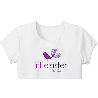 Little Sister Shirt<br>Bird