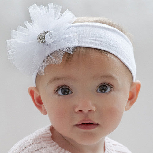 Tulle Bling Headband - Moonbeam Baby