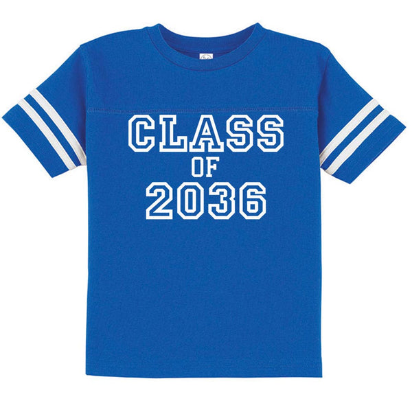 Personalized Football Tees - Class of