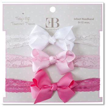 Headband 3 Pack Lace - Moonbeam Baby