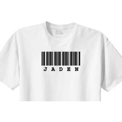 Personalized Shirt<br>Bar Code - Moonbeam Baby