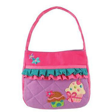 Quilted Purse - Cupcake w/ruffles - Moonbeam Baby