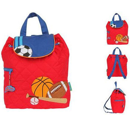 Quilted Backpack - All Sports - Moonbeam Baby