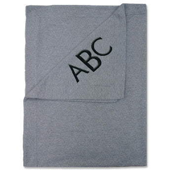 Fleece Sweatshirt Blanket - Grey - Moonbeam Baby - 1