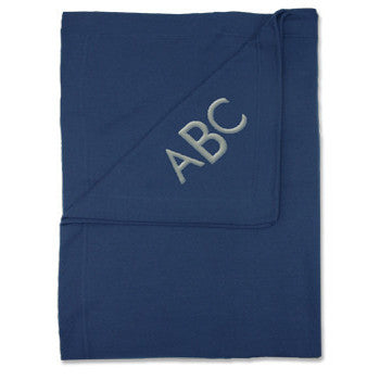 Fleece Sweatshirt Blanket - Navy - Moonbeam Baby - 1