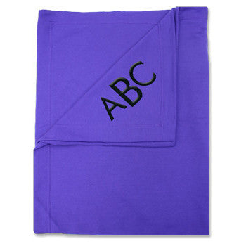 Fleece Sweatshirt Blanket - Purple - Moonbeam Baby - 1