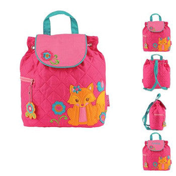 Quilted Backpack - Fox - Moonbeam Baby