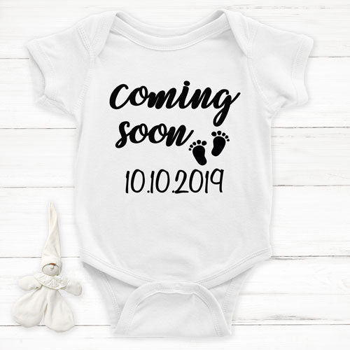 Announcement Onesie - Coming Soon