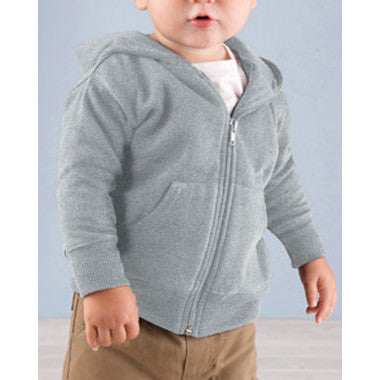 Hooded Sweatshirt  Grey - Moonbeam Baby